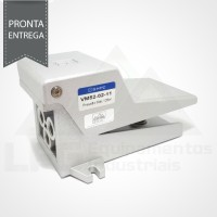 "VM52-02-11 VÁLVULA DE ACIONAMENTO PEDAL/MOLA 5/2 VIAS ROSCA 1/4"""